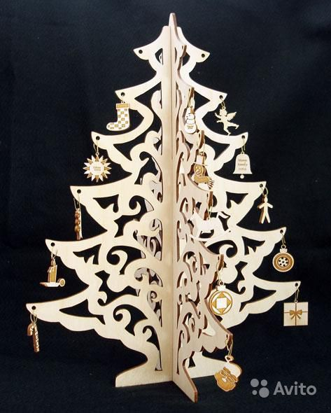 Новогодние поделки из фанеры своими руками лобзиком чертежи легкие