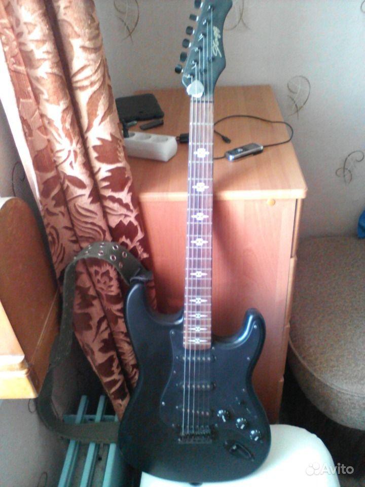 Эл. гитара Stagg и процессор Zoom G2. Нижегородская область, Дзержинск