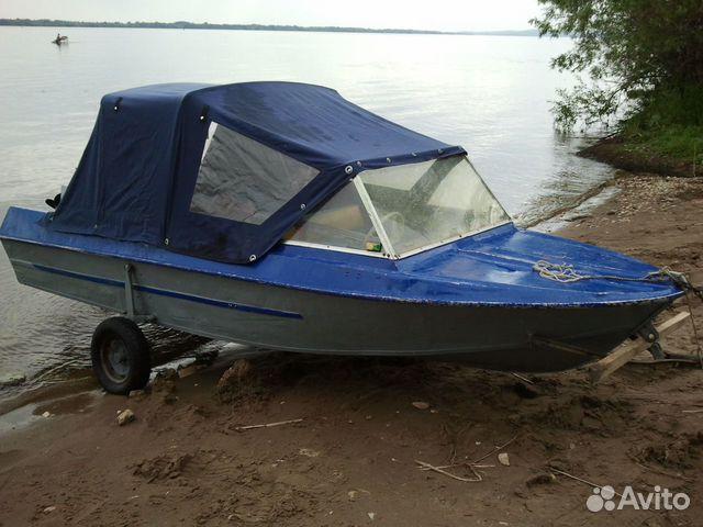 купить лодку не без;  мотором за бесценок бу на волгограде