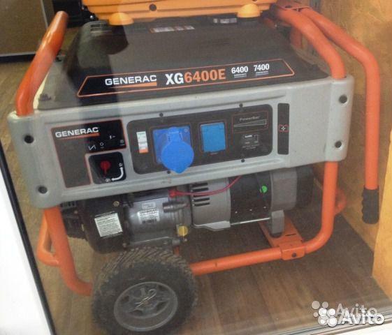 Бензиновый генератор generac генератор