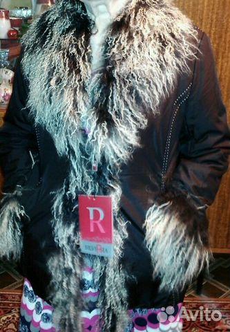 Куртка с козьим мехом 89089053386 купить 1