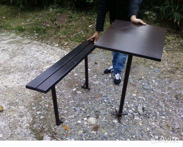 Из чего сделать стол на кладбище своими руками