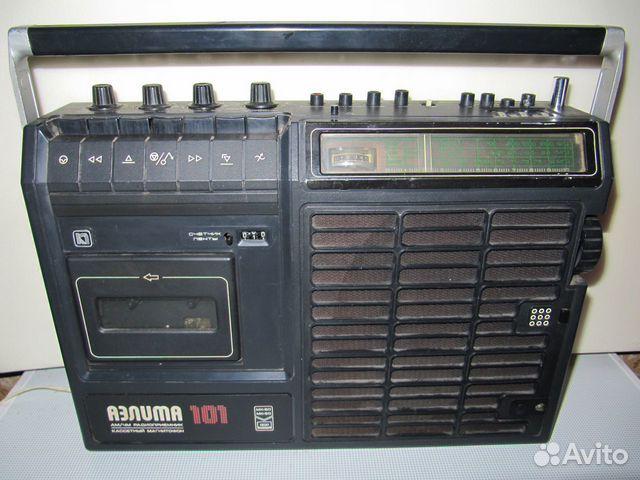 """Магнитола  """"Аэлита 101 """",  """"Радиотехника мл-6102 """" ."""