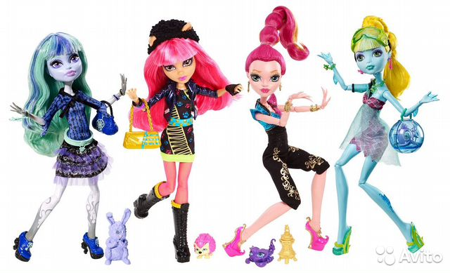Cute Monster High Dolls Singers - Stop motion clip - YouTube