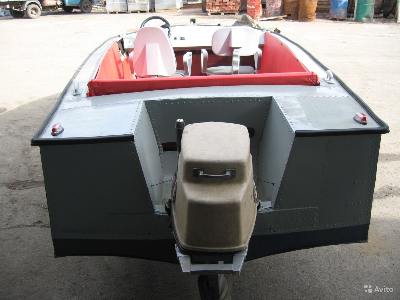 купить лодку с мотором в смоленске на авито