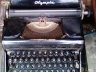 Пишущая машинка olympia progress