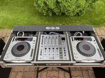 Dj коммлект Pioneer DJM-700, SDJ-800 MK2+ Кейс