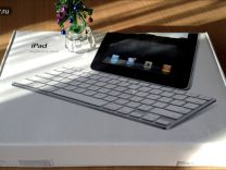 Apple iPad Keyboard Dock model A1359 (рус клавиши)