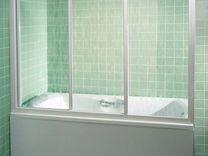 Пластиковая перегородка для ванной