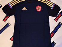 Adidas russia футболка темно синяя — Одежда, обувь, аксессуары в Санкт-Петербурге