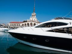 "Аренда яхты ""Sunseeker Manhattan 60"" г.Сочи"