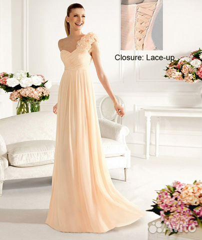 Авито новое вечернее платье