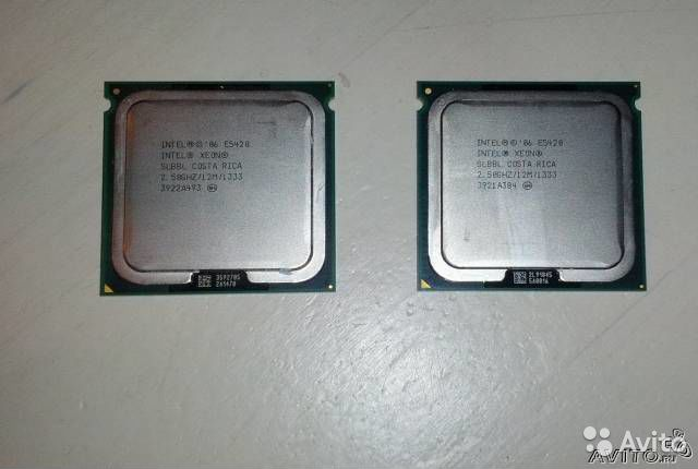 Intel xeon E5420 2.5Ghz/1333/2x6 LGA-771