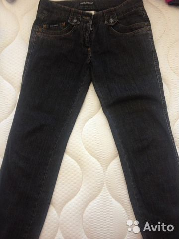 6aef26f74e5 Продам черные джинсы dolce gabbana оригинал б у купить в Хабаровском ...