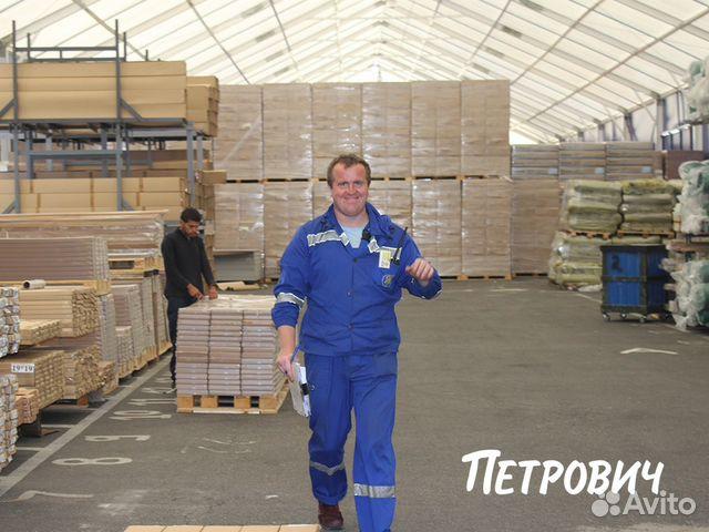 Работа спб на складе кладовщик