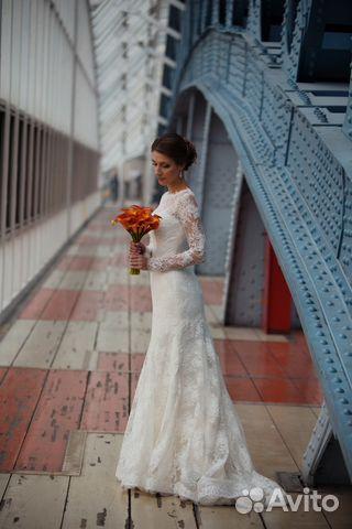504cd48c6 Свадебное платье Ангелина Gabbiano купить в Москве на Avito ...