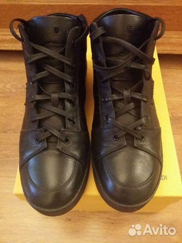 Зимние черные ботинки Fendi. Оригинал. Идеал   Festima.Ru ... 9f4f235e4c9