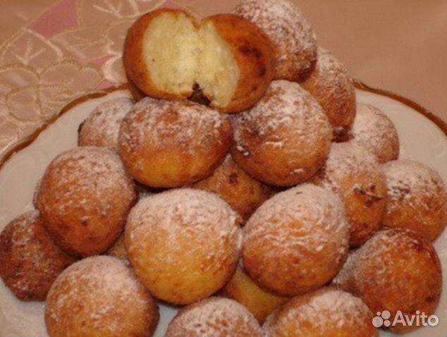 Пончики быстрые рецепт с фото