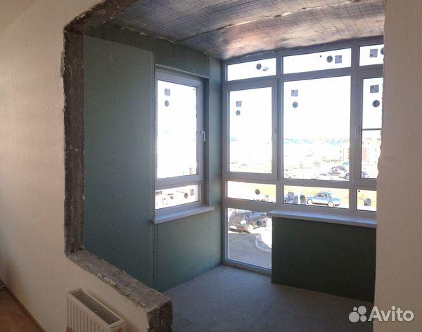 Ремонт квартир, комнат под ключ, отделка домов, балконов, фа.