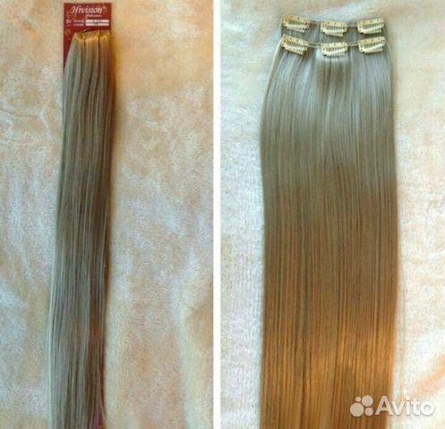 Купить волосы на заколках в казани