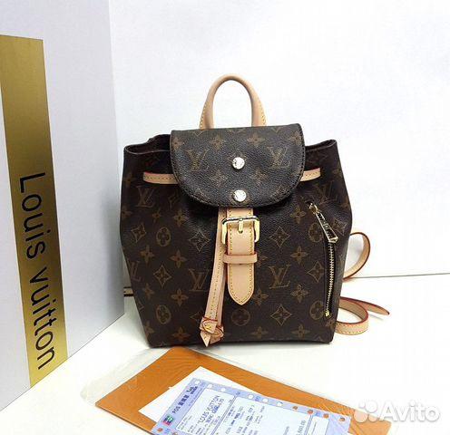 19a6863a2779 Рюкзак женский LV Louis Vuitton mini купить в Москве на Avito ...