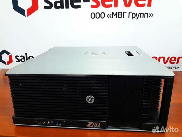Рабочая станция HP Z620 E5-2680 / 64GB / NVS310