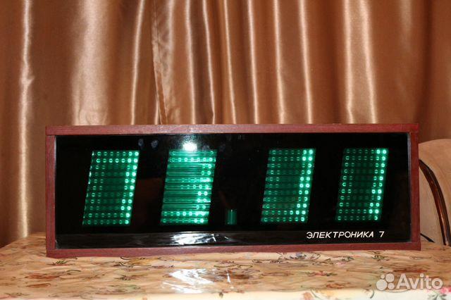 Часы электроника 7-06к