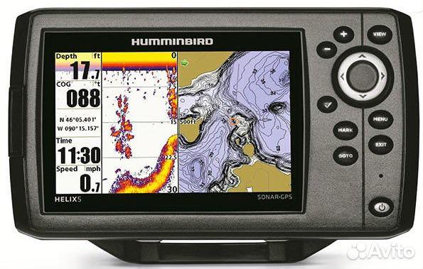 карты для эхолота humminbird 5 di gps скачать