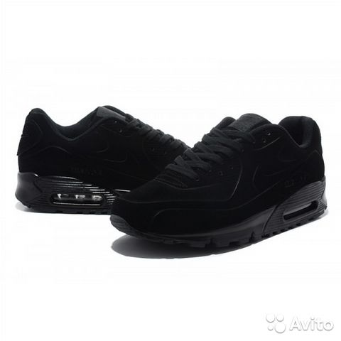 0b8ec212 Мужские кроссовки Nike Air Max 90 VT Full Black   Festima.Ru ...