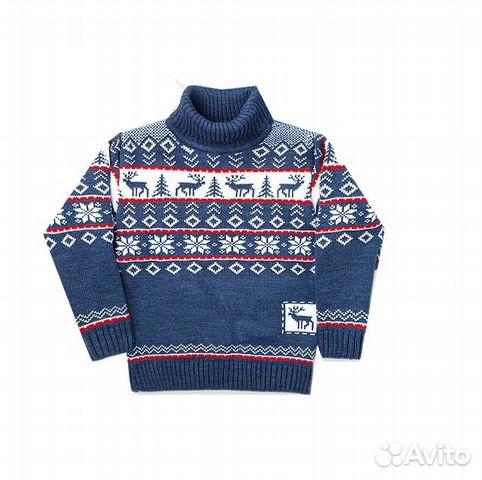 вязаный свитер для мальчика Festimaru мониторинг объявлений