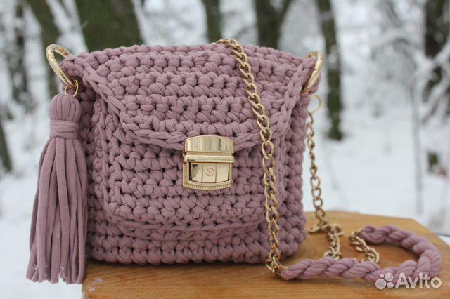 d9612600c134 Вязаные крюком сумки из трикотажной пряжи | Festima.Ru - Мониторинг ...