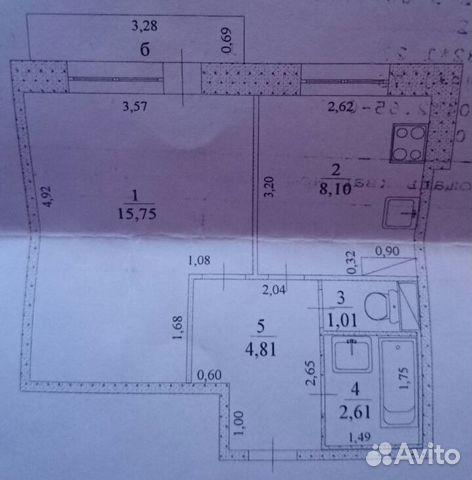 Продается однокомнатная квартира за 920 000 рублей. Белый Ключ, Нефтеразведчиков проезд 15.