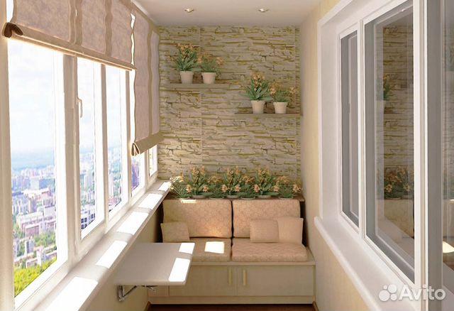 Ремонт лоджий балконов королев окна строй остекление балконов