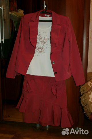 Костюм юбка 89206050065 купить 1