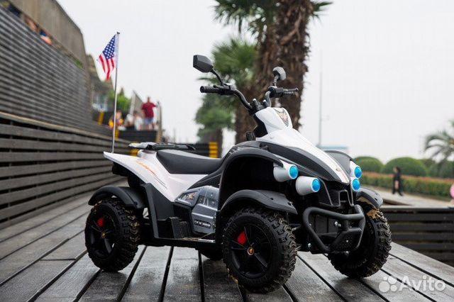 Электромобиль Квадроцикл Dooma White купить 1
