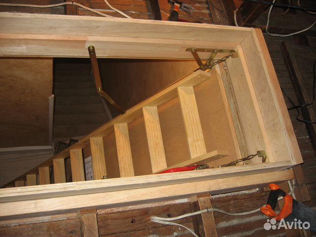 Установка Чердачной лестницы 83512163166 купить 1