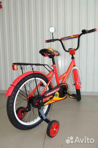 Велосипед Новый 18 Мишка, Red / В Кредит 89284666245 купить 5