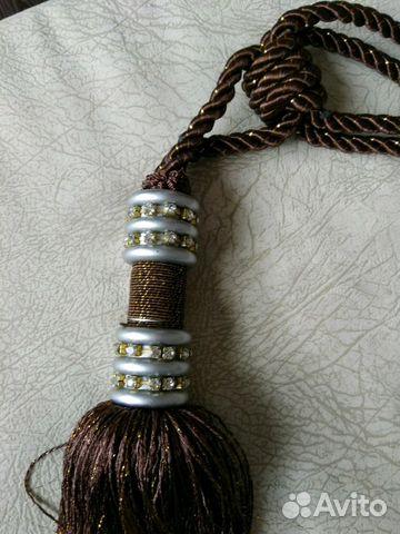Подхват-декоративный шнур с кистью для штор новые
