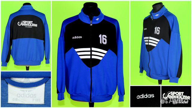 Винтажная олимпийка «Adidas», №32 купить в Москве на Avito ... 73936a55dd9