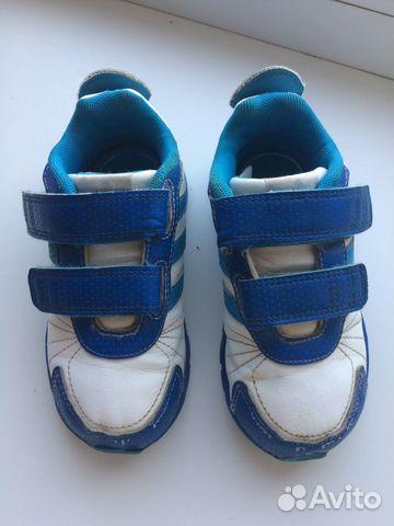 Кроссовки Адидас кидс (Adidas Kids), размер 24— фотография №1 b2594eb7883