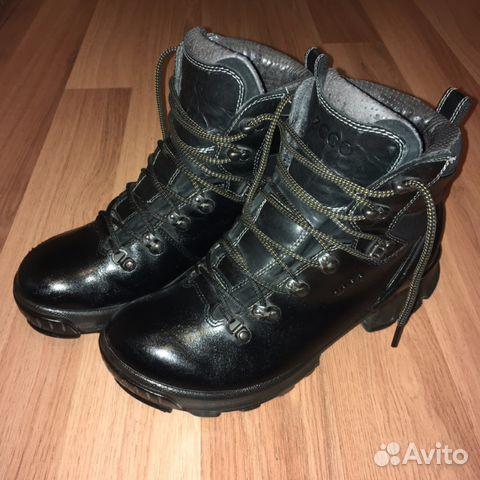 c62b2e78d725 Ecco ботинки Зимние высокие купить в Москве на Avito — Объявления на ...