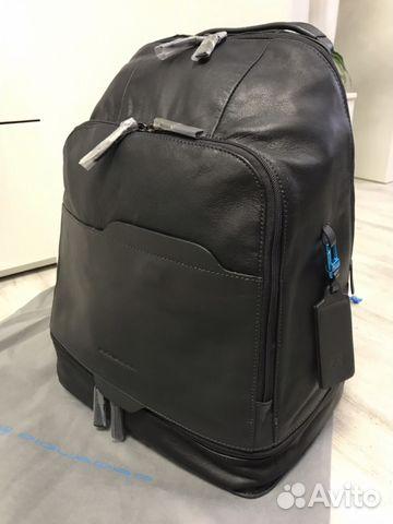 849f192dd1 Рюкзак из телячьей кожи Piquadro Euclide купить в Москве на Avito ...