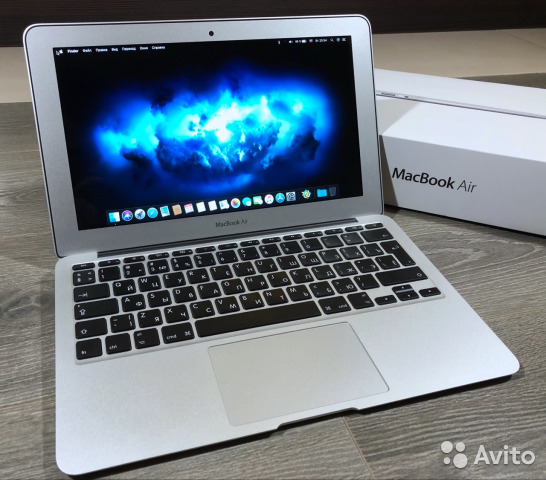 Apple MacBook Air 2015 (i5, 4Гб, 128SSD)