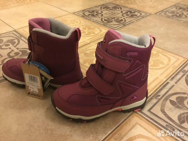 b6ab2cf7 Новые зимние ботинки Viking Gore Tex размер 31 | Festima.Ru ...