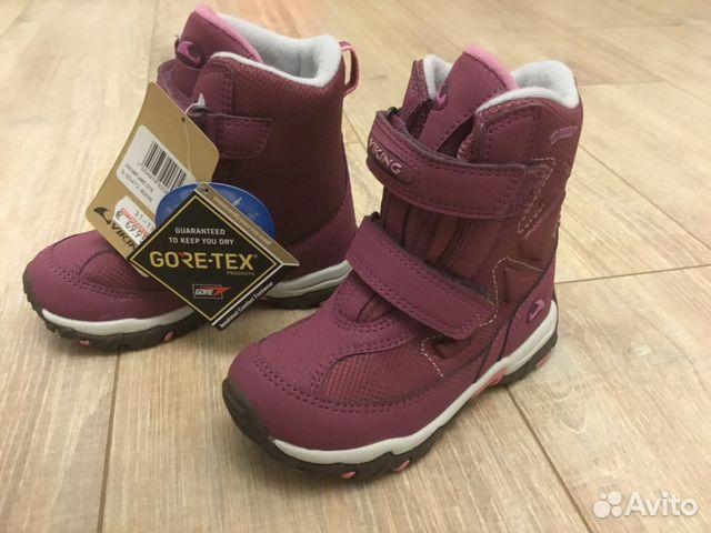 46492bd2 Новые зимние ботинки Viking Gore Tex размер 27 | Festima.Ru ...