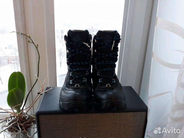 Ботинки зимние Columbia omni-grip  61b647b6465d5