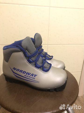 Лыжные ботинки детские 33   Festima.Ru - Мониторинг объявлений a183bafd464
