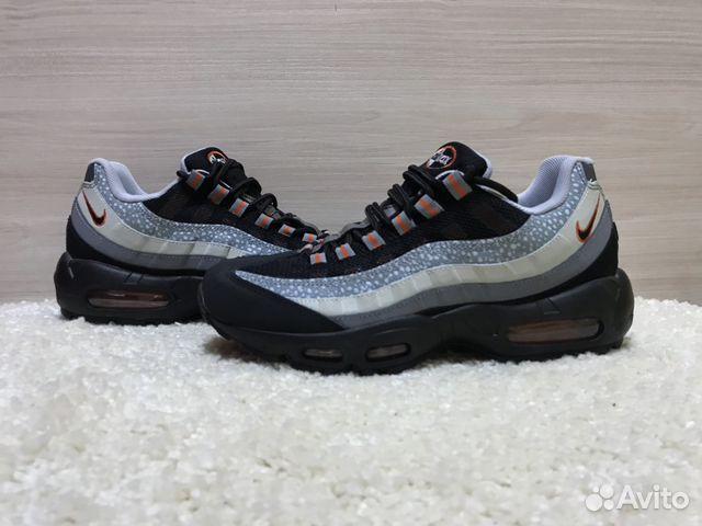310b22ed Кроссовки Nike Air Max 95 Black Gray купить в Челябинской области на ...