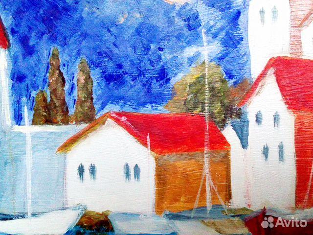 Картина маслом черногория 89044983953 купить 2