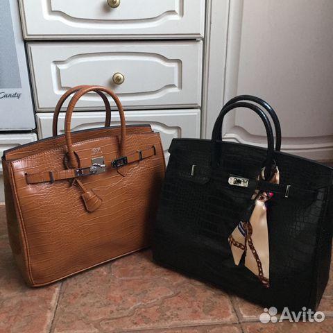 189907b90c2c Новая кожаная сумка Hermes birkin под крокодила | Festima.Ru ...